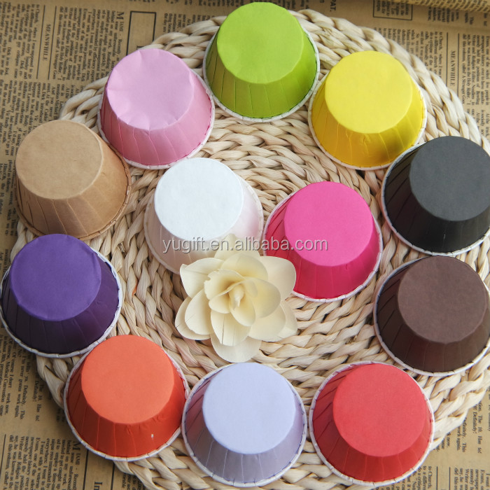 pretty Wholesale paper muffin cups/ paper baking cups/greaseproof paper cupcake liners
