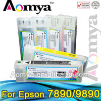 Aomya 700ml refillable ink cartridge with chip resetter for Epson 7890