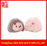 Best selling super cute baby hedgehog plush toy lovely plush hedgehog stuffed animals
