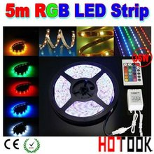 Wholesale dimmable 5050 led strip 5m 12V RGB 150 waterproof LED string Light warranty 2 years CE RoHS