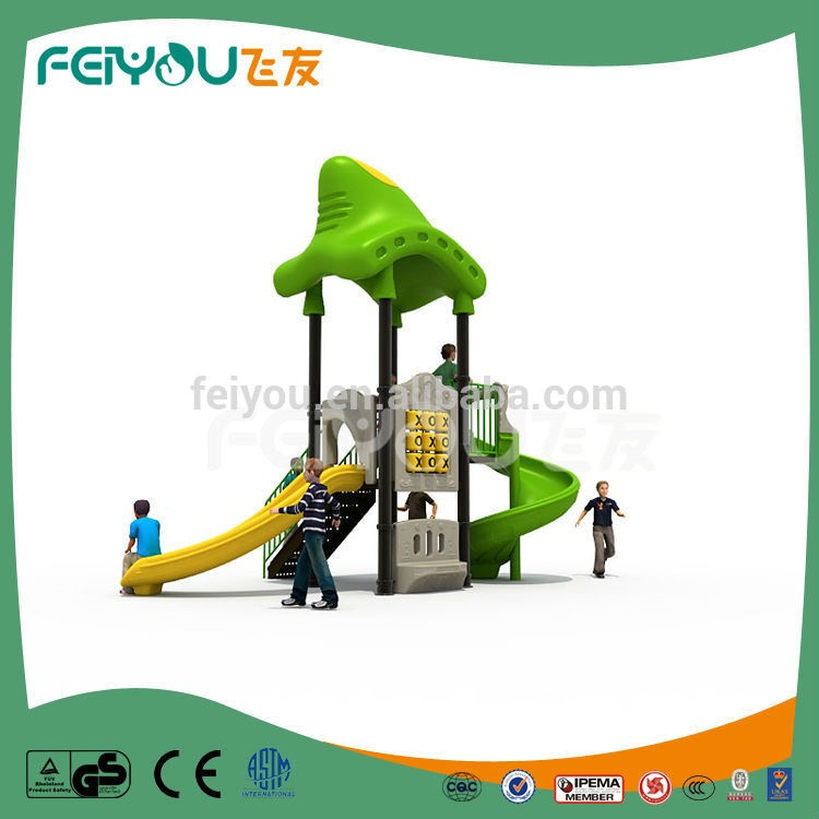 Feiyou Most Popular Small Plastic Outdoor Playground Playing Items Products For Kids