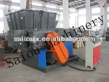 crush fabric single shaft fabric shredder