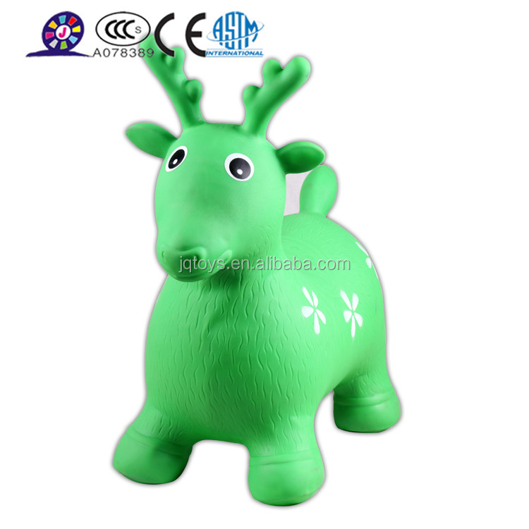 PVC inflatable bouncing dragon animal toy