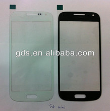 For samsung S4 mini i9192 i9195 i9190 Glass screen(wholesale cell phone glass screen)