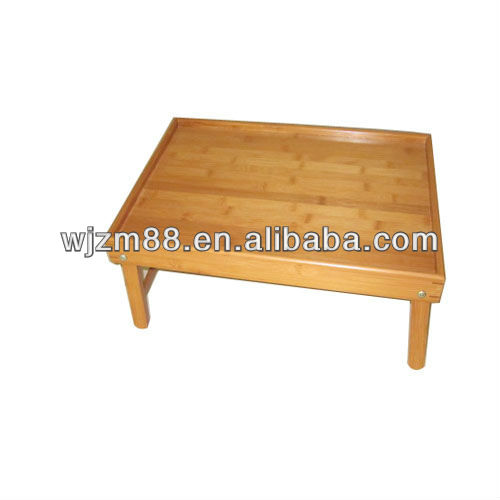 bamboo breakfast serving trays, folding bed tray wholesale