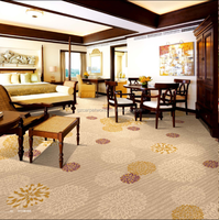 Japanese Style Nylon Printed Carpet For Hotel Room And Restaurant Use