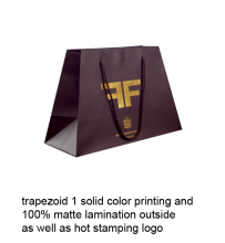 High Quality Paper Gift Bags without Handles