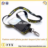 Wholesale Custom Printed Medal Badge Holder Mobile Phone Lanyard