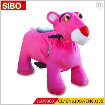 SIBO Factory directly Kids Plush Electric Token Operated Ride in 2018