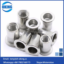 Stainless steel Countersunk Head rivet nut