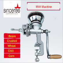 2017 hot sale!!! cast iron manual grain mill Corn grinder good quality cereal corn mill!