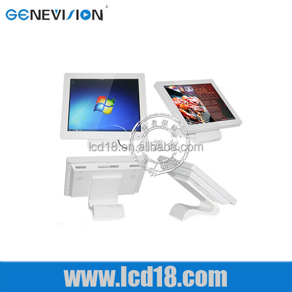 15 inch remote control throgh wifi android tv advertising <strong>screen</strong> with stand