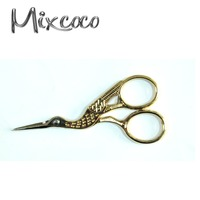Antique Scissors Embroidery Crane Shape Scissors Craft Thread Scissors