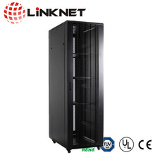 19 inch Knock-Down Server Rack Cabinet with Casters - Easy to transport and Quickly Assembles