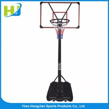 HJsport height adjustable portable outdoor basketball stand hoops for sale
