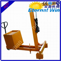 Mini mobile hydraulic workshop crane