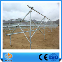 Most Popular Easy Install Pv Solar Panel Mounting Bracket For Ground