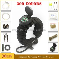 wholesale rescue rope safety paracord bracelet for men