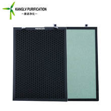 Best service commercial HVAC activated carbon air filters with photocatalyst sponge for home