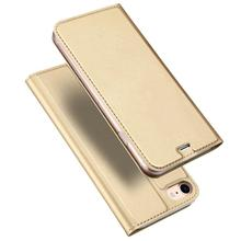 WinTop Gold Wallet Leather Flip Case Folio Business Card Holder Cover Book Case for Apple iPhone8