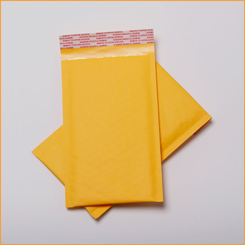 Manufacturer printing Economical Protective free sample self-seal kraft bubble envelope