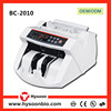 Modern design bill counter multi currency intelligent banknote counter machine