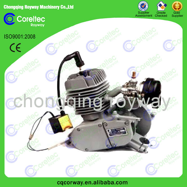 Customized Air Cooled 2 / 4 stroke 80cc gasoline engine for bicycle kit