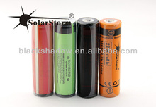 High quality Panasoni c Sanyo lithium-ion batteries for sale / 3.7V 3400mah Panasoni c 18650 rechargeable battery