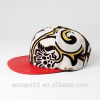 cheap short brim snapback hat/snap back hats cheap