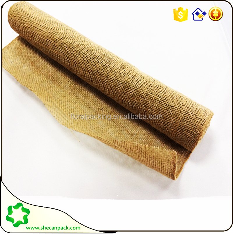 SHECAN Top sales ! wholesale jute fabric