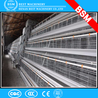 2016 good quality poultry layer chicken battery cage/chicken house
