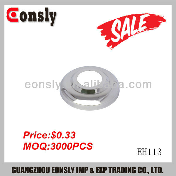 Foshan China AISI304/316 mirror/satin finish steel pipe connect flange for staircase railing