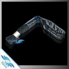 Professional Manufacturer of cheap low price wristband with high quality with tamper proof aluminum