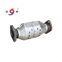 Stailess steel Catalytic converter middle section for exhaust system from China