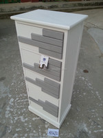 grey and white chest home furniture nautical style 4 drawer storage unit