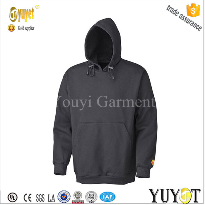 hooded anti foul fire protection pullover heavy weight workwear jacket