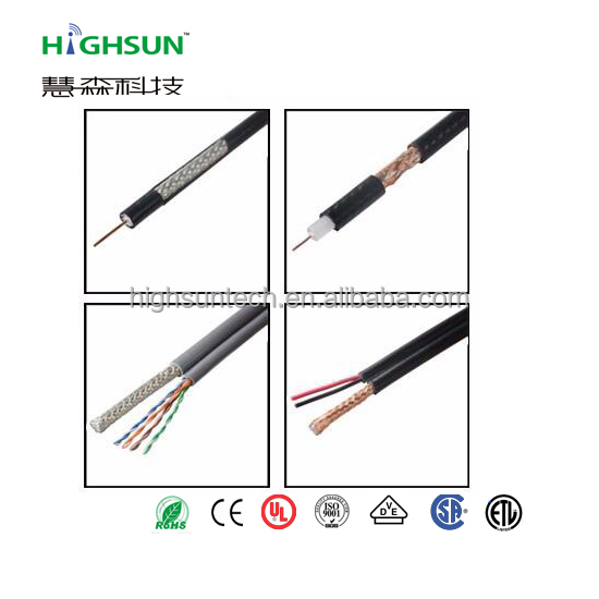 High speed trunk cable rg11 with messenger