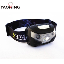 Easy Carry Most Powerful Waterproof IP65 LED Headlamp LED light Source Best Running Headlamp