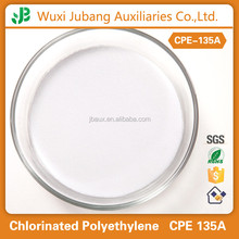 CPE 135A for the impact resistant modification of rigid PVC products