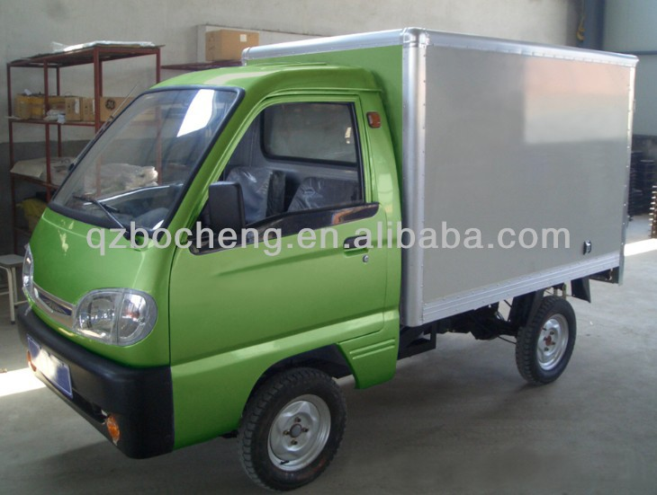 Electric Cargo Vehicle for 500kg Load With 2.0~2.2m Van