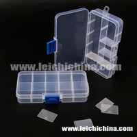 Wholesale plastic clear small size RO09 fly fishing box