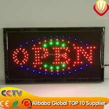 shops display advertising LED open/bar/ice cream/sale/ATM signs OEM allowed factory direct cheapest price on china market