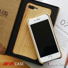 [DEVILCASE] 100% Ash Wood, Classic Mobile Phone Case for iPhone 7/7 Plus