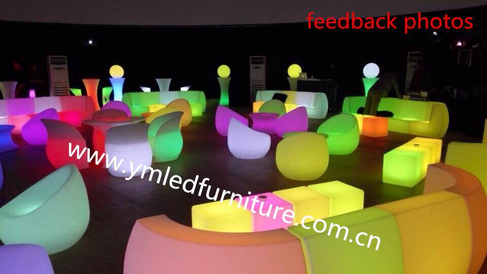 Modern RGB Event Illuminated Outdoor Furniture