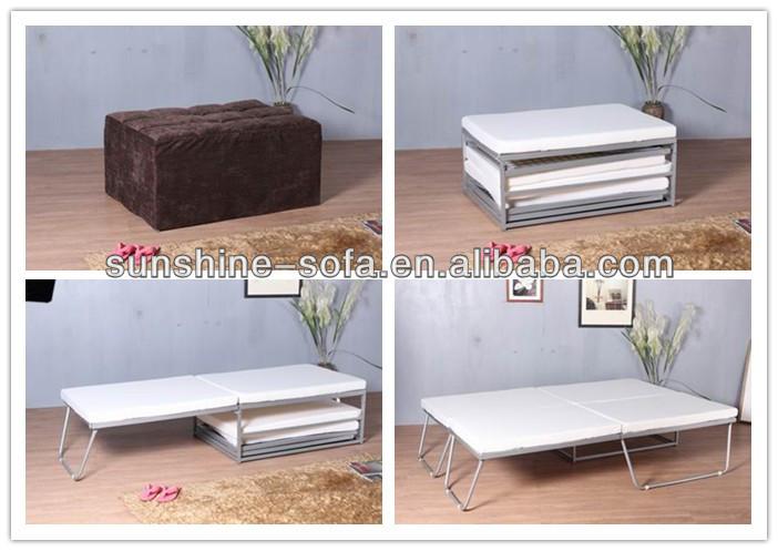 pouf letto matrimoniale pieghevole-Metal letto-Id prodotto ...