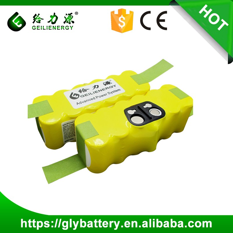 Rechargeable SC3500mAh 14.4V NI-MH Battery For Cleaning Irobot Roomba 500 Series