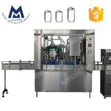 MIC 12-1 Factory price automatic small beer can filling machine in standard production capacity 2000 CPH