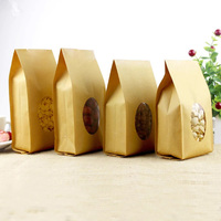 French fries paper bag food paper bag brown kraft paper bag for food