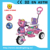 Baby tricycle hot sale style from Jiaxing pinghu with elephant head and with music and canopy Lovely elephant children tricycle