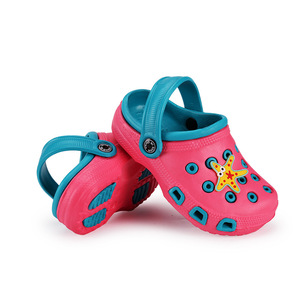 cheap anti slip children's rubber clogs shoes kids
